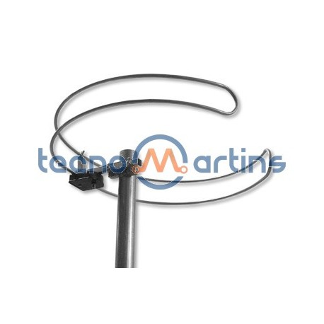 Antena FM Dipolo Circular C/ Ficha F
