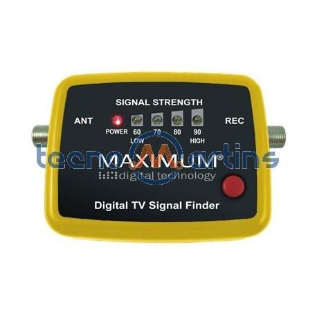 Medidor e Localizador de Sinal TV Digital Terrestre (TDT)