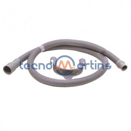 Tubo Saída Água Maquina Lavar 19mmX21mm 1,5mT