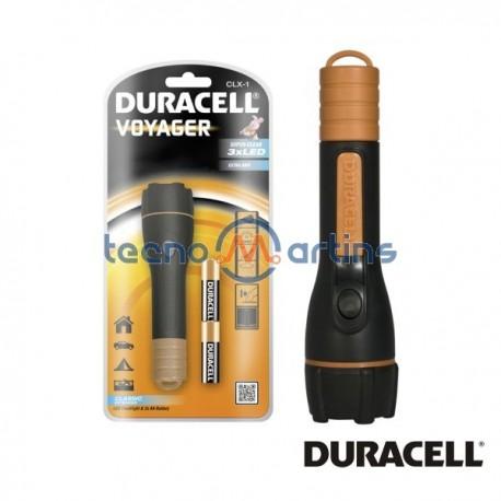 Lanterna 3 Leds c/ Pilhas AA Duracell