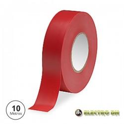 Fita Isoladora Vermelha 10M Edh