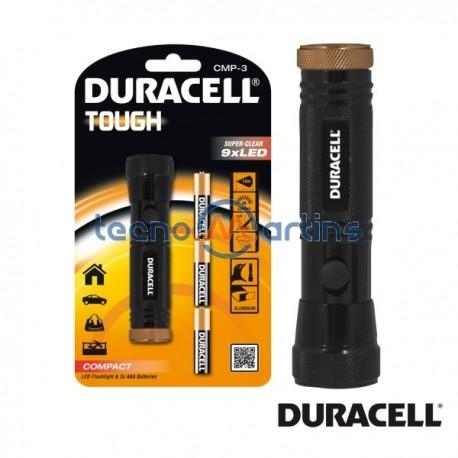 Lanterna 9 Leds c/ 3 Pilhas AAA Duracell