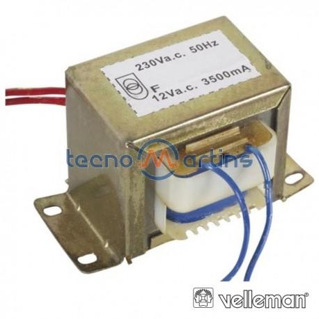 Transformador 42Va 1X12V Velleman