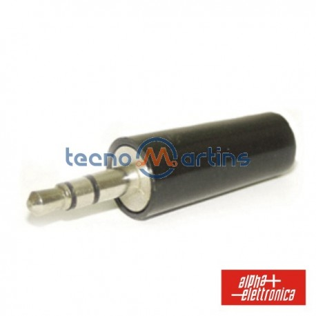 Ficha Jack 3.5mm Macho St