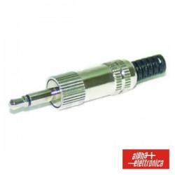 Ficha Jack 3.5mm Macho c/ Protecção Pvc Mono