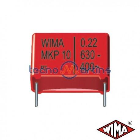 Condensador Polyester 0.68µf 250V 15mm Wima