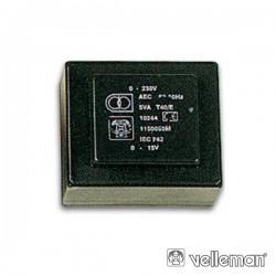 Transformador Encapsulado 0.7Va 2X9V 2X0.039A