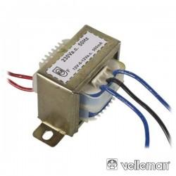 Transformador 12Va 2X12V Velleman