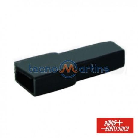 Cobertura p/ Terminais Faston 6.35mm Preto