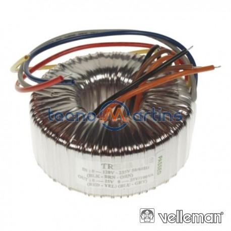 Transformador Toroidal 300Va 2X24V / 2X6.25A