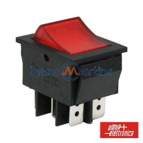Interruptor Miniatura 15A-250V Dpdt On-On