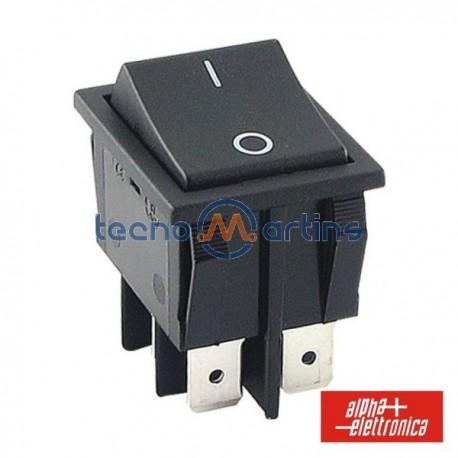 Interruptor de Potência Basculante 15A-250V Dpst On-Off
