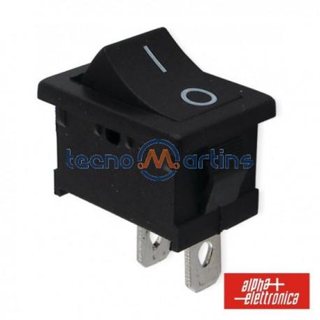Interruptor de Potência Miniatura 6A-250V Spst On-Off