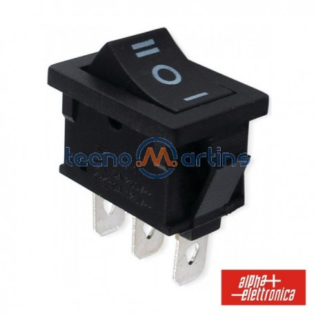 Interruptor de Potência Miniatura 6A-250V Spdt On-Off-On