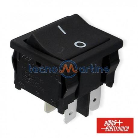 Interruptor de Potência Miniatura 3A-250V Dpst On-Off