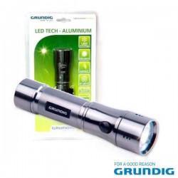 Lanterna 12 Leds Aluminio Grundig