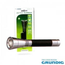 Lanterna 6 Leds Aluminio Grundig