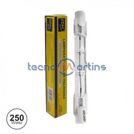 Lâmpada Halogéneo R7S 78mm 250W 230V