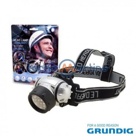 Lanterna de Cabeça 7 Leds Grundig