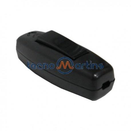 Interruptor de Passagem Bipolar 2A 250V Preto