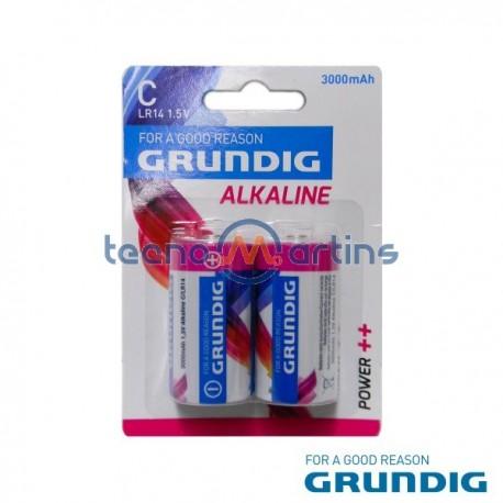 Pilha Alcalina Lr14/C 1.5V 3000Ma 2X Blister Grundig