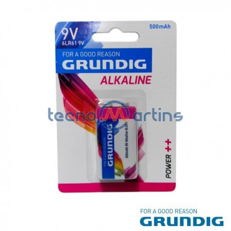 Pilha Alcalina 9V/6Lr61 Blister Grundig