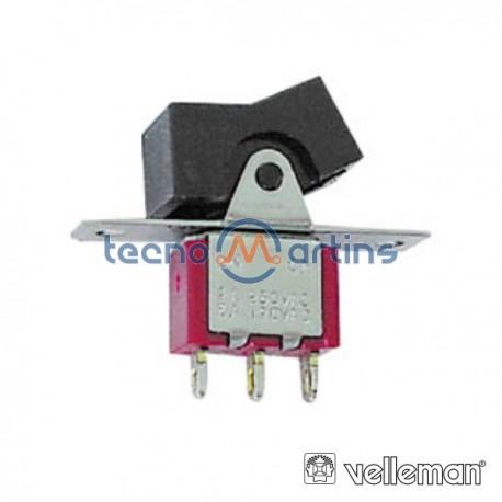 Interruptor Basculante Spdt Vertical On-(On)