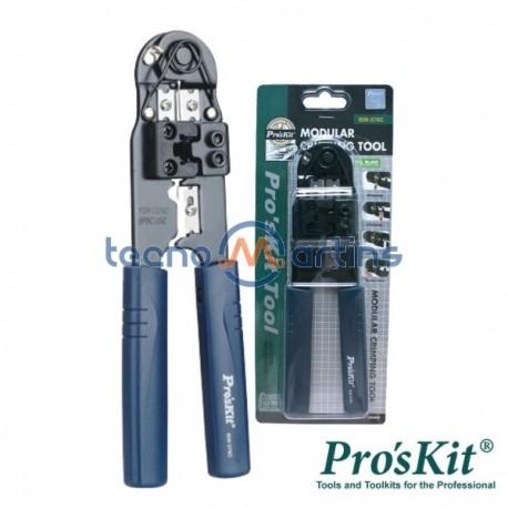 Alicate de Cravar Rj45 Pro'sKit
