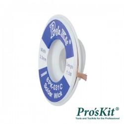Malha Dessoldadora 2.5mm 1.5m Pro'sKit