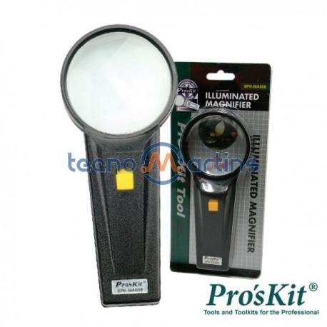 Lupa c/ Iluminação Pro'sKit