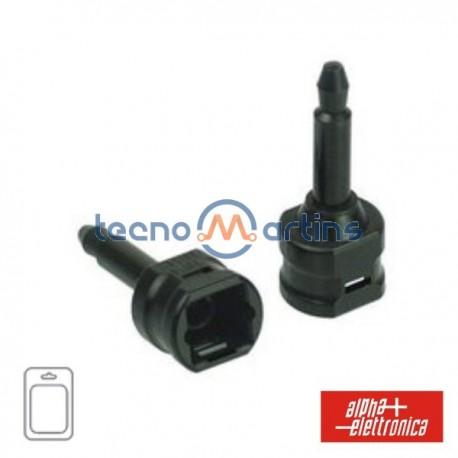 Ficha Adaptadora Toslink-Mini Plug Blister