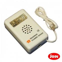 Adaptador de Telefone Sinal Alerta Acústico E Visível