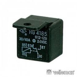 Relé 24Vdc Inversor Unipolar 30A/24V