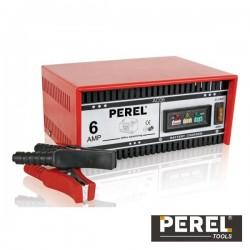 Carregador de Baterias Chumbo 12V 6A Perel