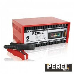 Charger de Baterias Chumbo 12V 6A Perel