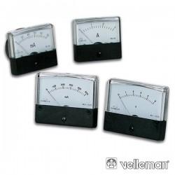 Amperímetro de Painel 10A Velleman