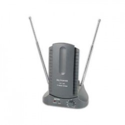 Antena Tdt Interior Amplificada 25Db Uhf Vhf & Fm