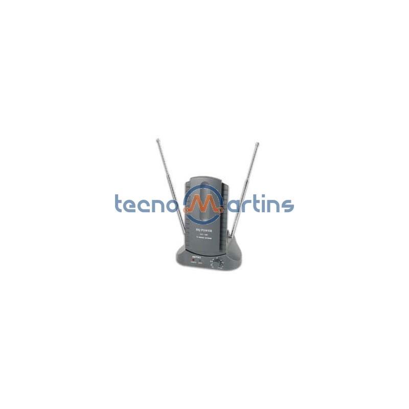 Antena tdt interior amplificada 25db uhf vhf fm - Antena satelite interior ...