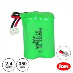 Bateria Ni-Mh 2/3 AAA 2.4V 350Ma Join