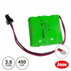 Bateria Ni-Mh 4/5AAA 3.6V 450Ma Join