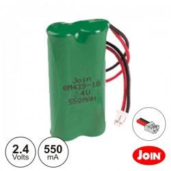 Bateria Ni-Mh AAA 2.4V 600Ma Join