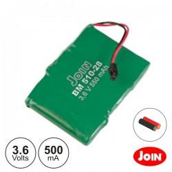 Bateria Ni-Mh 3.6V 500Ma Join