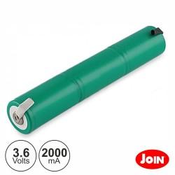 Bateria Ni-Mh 3xC 3.6V 2000mA Join