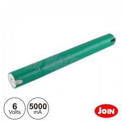 Bateria Ni-Mh 5xD 6V 5000mA Join