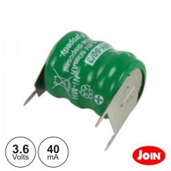 Bateria Ni-Mh 3.6V 40Ma Join