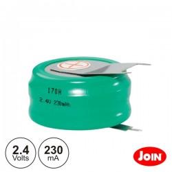 Bateria Ni-Mh 2.4V 230Ma Com Patilhas Join