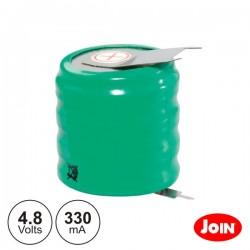 Bateria Ni-Mh 4.8V 330Ma c/ Patilhas Join