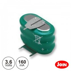 Bateria Ni-Mh 3.6V 160Ma c/ Patilhas Join