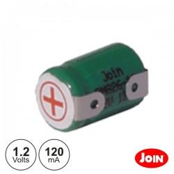Bateria Ni-Mh 1/3AAA 1.2V 120Ma Join