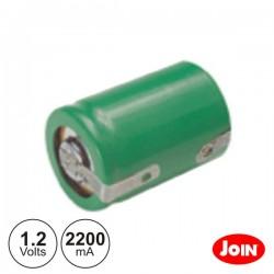 Bateria Ni-Mh 4/5 Sc 1.2V 2200mA C/ Patilhas - Join